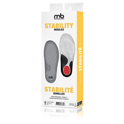 STABILITY INSOLES - MEN'S 8-13 TRIMMABLE