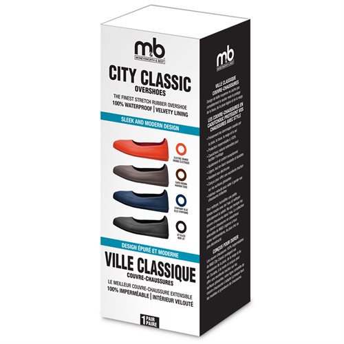 CITY CLASSIC RUBBER OVERSHOES