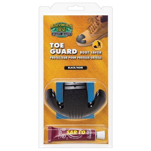 TOE GUARD BOOT SAVER BLK LARGE