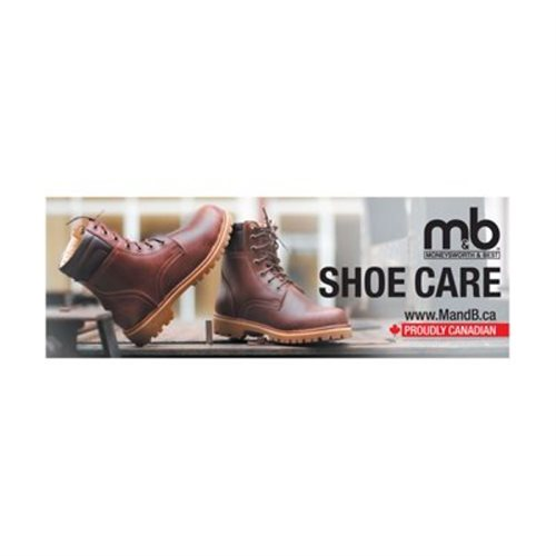 WOODEN DISPLAY HEADER CARD - BOOTS