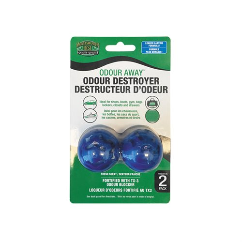 ODOUR DESTROYER SPORT BALL - 2 PACK
