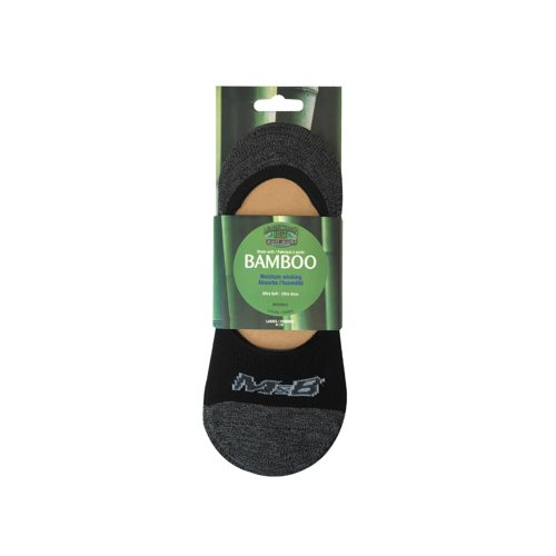 BAMBOO INVISIBLE SOCKS 3 PACK - WOMEN'S